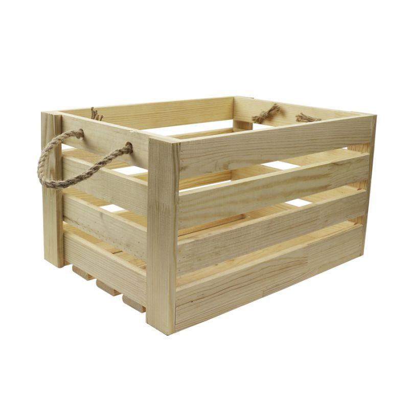 Ящик квадратний сосна 37х37х21см 4820149903323