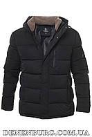 Куртка зимняя мужская HANDIGEFENG 20-9935A чёрная, фото 1