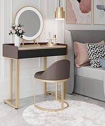 Туалетний столик,стілець,дзеркало. Модель RD-6587