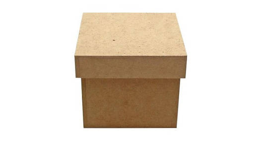 Коробка с крышкой МДФ 15х15х13см, фото 2