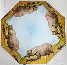 Зонт-трость женский SR K355 слон