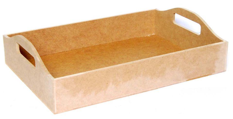 Поднос МДФ с ручками 37х26.5х6.5 см