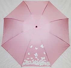 Зонт женский Fiaba 709 розовый антиветер полный автомат