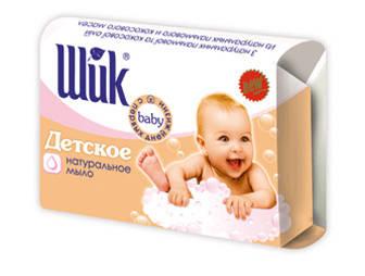 Мыло туалетное Шик Детское 70г (360075)