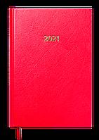Ежедневник датированный в линию Buromax 2021 Strong, 336 страниц, A5 красный