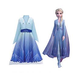 Праздничный комплект принцессы Эльзы Холодное сердце 2 из трех предметов - Elsa, Princess, Frozen2, Disney
