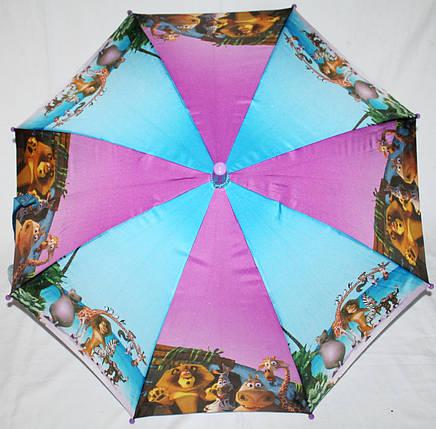 Зонт-трость детский Fiaba 0102-19 Мадагаскар, фото 2