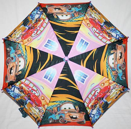 Зонт-трость детский Fiaba 0103-19 Тачки, фото 2