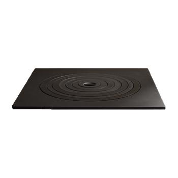 Плита чавунна пічна 550х550 (7 кілець)