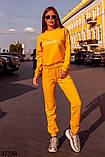 Модный спортивный костюм штаны + кофта Love р. 42-44, 46-48, фото 2