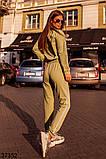 Модный спортивный костюм штаны + кофта Love р. 42-44, 46-48, фото 6