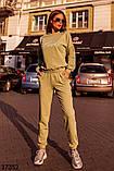 Модный спортивный костюм штаны + кофта Love р. 42-44, 46-48, фото 8
