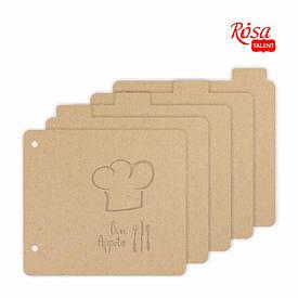 Заготівля Rosa для альбому Bon Appetit 20x20.5см 5 сторінок 4820149904863