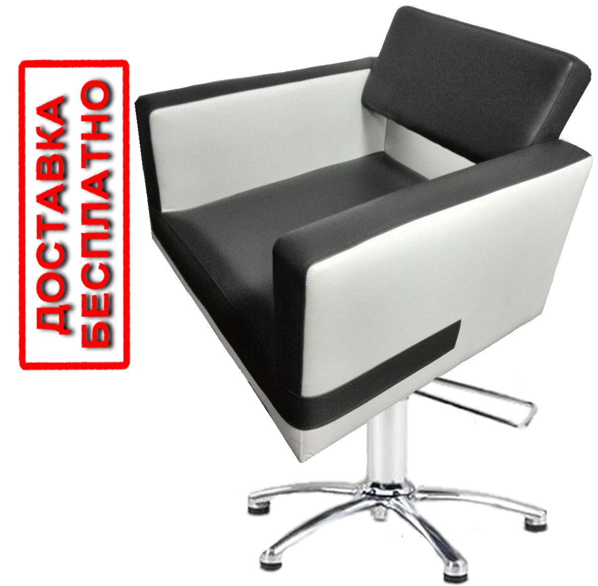 Парикмахерское кресло на гидравлике для салонов красоты BerlinV.M. подъемник + комплектующие пр-ва Польша