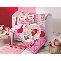 ТМ  Kupon  Детский набор в кроватку  с бортиками-  8 предметов