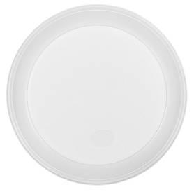 Тарілка одноразова Buroclean d-200 мм біла 1-секц. 5.5-6 м 1080121