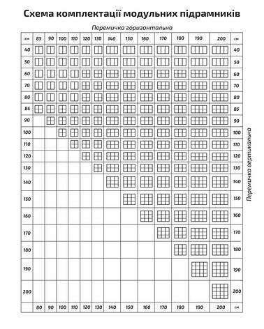 Планка средняя для перемычки 79 см ТМ Маэстро, фото 2