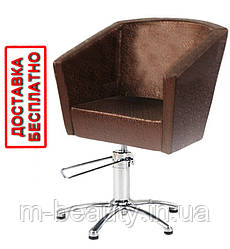 Парикмахерское Кресла для клиентов салона красоты на гидравлике Polina V.M.