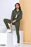 Стильный вельветовый костюм брюки + рубашка на пуговицах р. 44, 46, 48, 50, фото 2