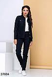 Стильный вельветовый костюм брюки + рубашка на пуговицах р. 44, 46, 48, 50, фото 3