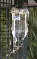 Savic БУТЫЛКА  поилка для собак, грызунов,хорьков, птиц с креплением в клетку 1л