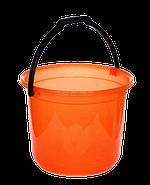 Ведро мерное 12 л оранжевый, фото 2