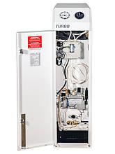 Турбований газовий котел двоконтурний, підлоговий Житомир Турбо КС-ГВ-010СН, фото 3