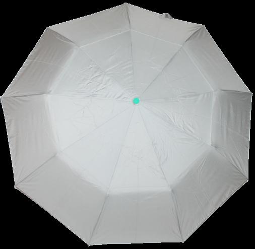 Зонт женский SR полуавтомат c клапаном антиураган и проявляющемся рисунком серый