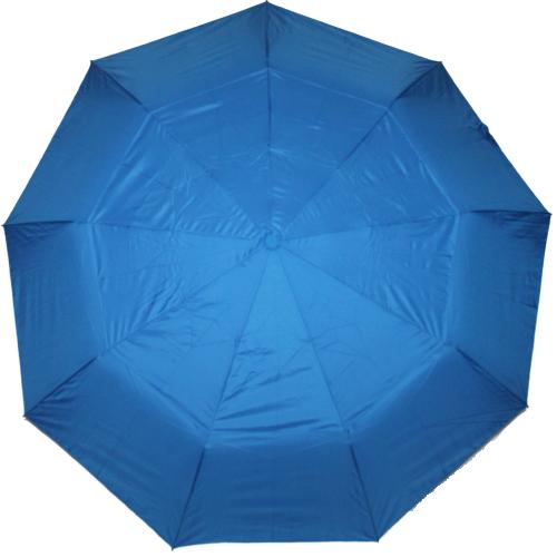 Зонт жіночий SR напівавтомат c клапаном антиураган і проявляється малюнком синій