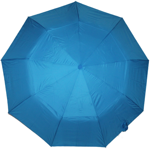 Зонт женский SR полуавтомат c клапаном антиураган и проявляющемся рисунком сине-голубой