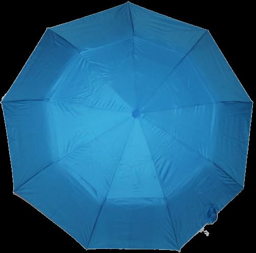 Зонт жіночий SR напівавтомат c клапаном антиураган і проявляється малюнком синьо-блакитний