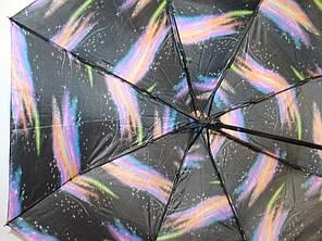 Зонт жіночий FIABA 3011-1 5586 антиветер напівавтомат, фото 2