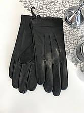 Мужские кожаные перчатки 1-934