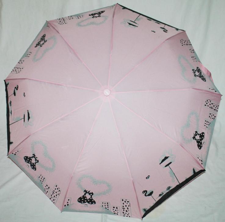 Зонт женский FIABA 708 5653 антиветер полуавтомат