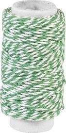 Нить Knorr Prandell декоративная двойная Зеленая 20м 4011643948020