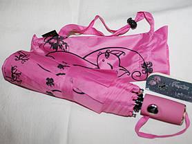 Зонт женский FIABA 708 5663 антиветер полуавтомат, фото 2