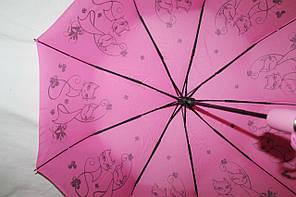 Зонт женский FIABA 708 5663 антиветер полуавтомат, фото 3