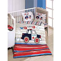 ТМ  Kupon  Детский набор в кроватку с бортиками-  8 предметов big city