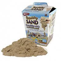 Кинетический песок Squishy Sand с лопаткой, роликом, ножом 200-19824217