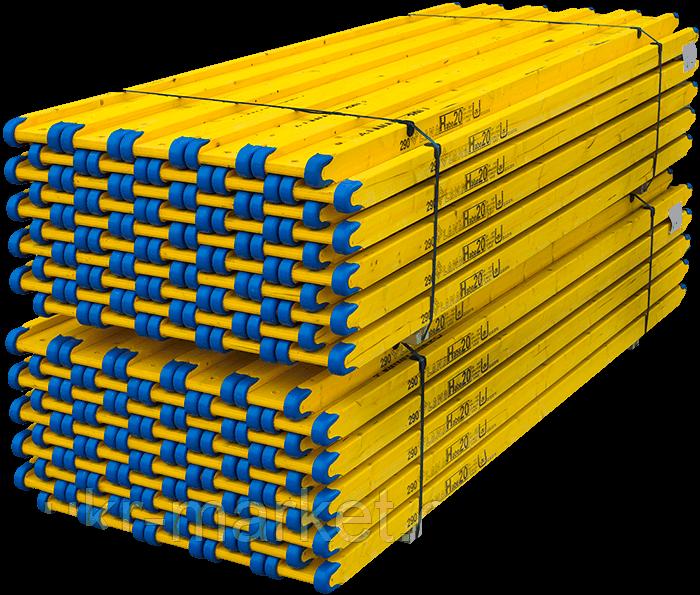 Балка строительная двутавровая трехслойная с наконечниками Lana
