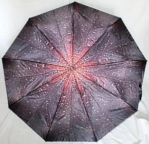 Зонт женский FIABA 881 5900 полуавтомат c сатиновым куполом антиураган, фото 2