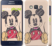 "Чехол на Samsung Galaxy A3 A300H Нарисованный Мики Маус ""2731c-72"""