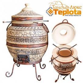 Тандыр Теплота 3 Люкс, дизайн Античный