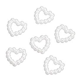 Набор украшений, ''Сердца'', Белый, 25 шт, Knorr Prandell