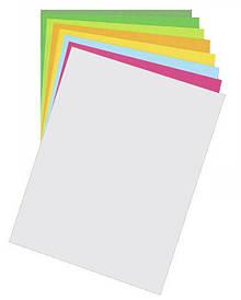 Папір для дизайну Fotokarton B2(50х70см), Яскраве срібло, 300г\м2, Folia