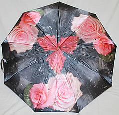Зонт женский SR 791 2293  антиветер полный автомат постер