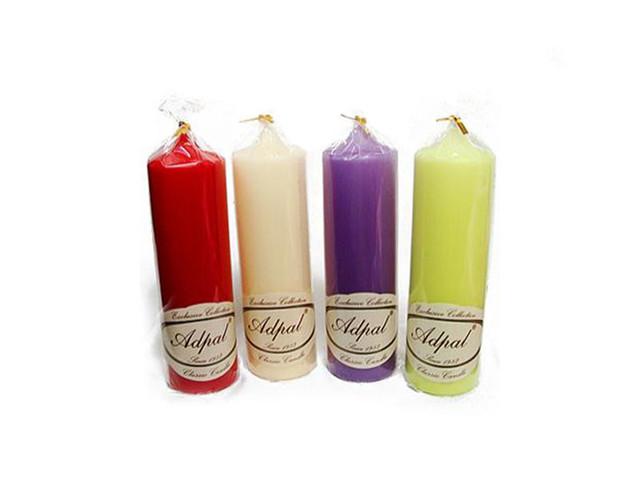Свечи декоративные ароматизированные