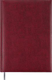 Щоденник недатований Buromax BASE A4 288стр. бордовий (BM.2094-13)