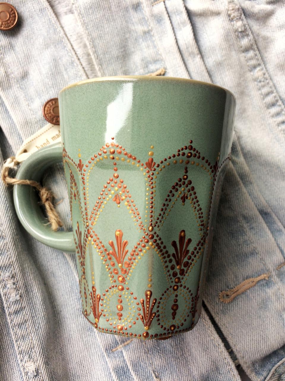 «Марокко» Чашка с точечной росписью