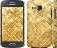 "Чехол на Samsung Galaxy Ace 3 Duos s7272 Текстура цвета золото ""2538c-33"""